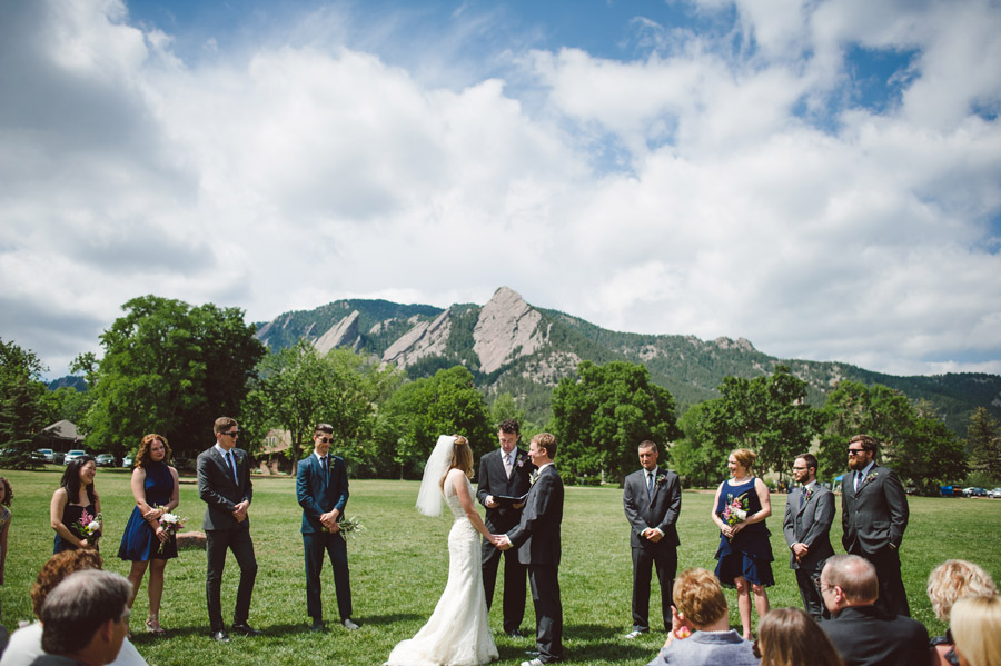 Full Wedding Party With Mountains In The Background Chautauqua