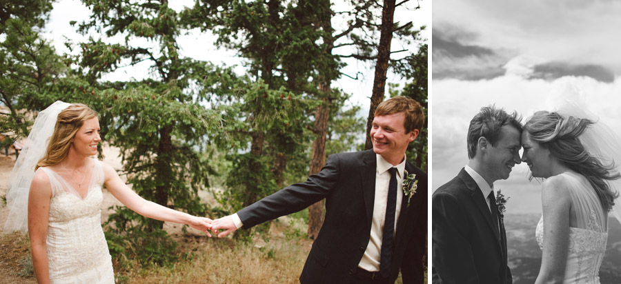 hip colorado couple married in boulder