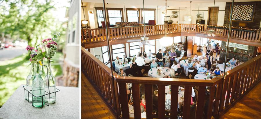 chautauqua community house wedding reception