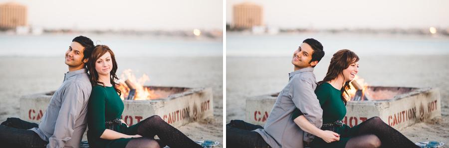 bonfire engagement photography, affordable denver wedding photography