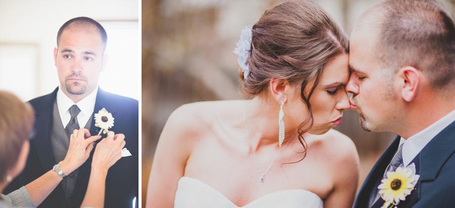 Bride and groom formal portraits in littleton colorado