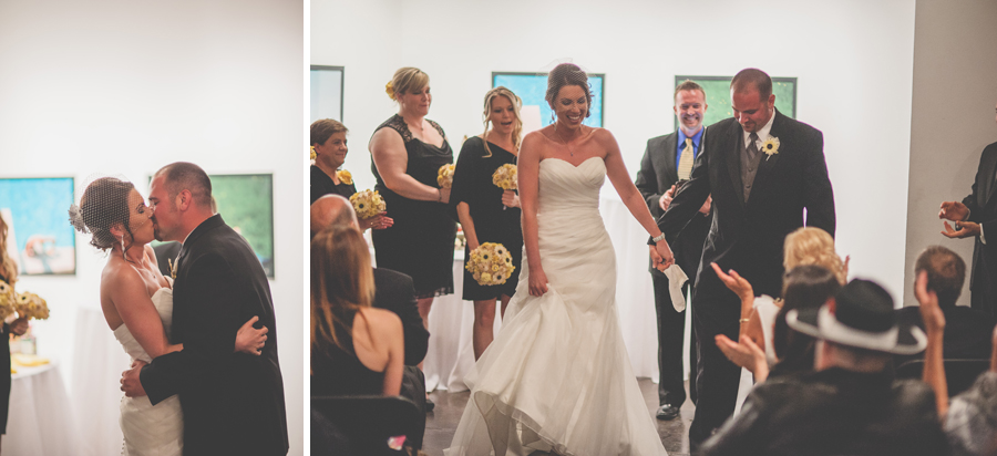 first kiss space gallery wedding denver
