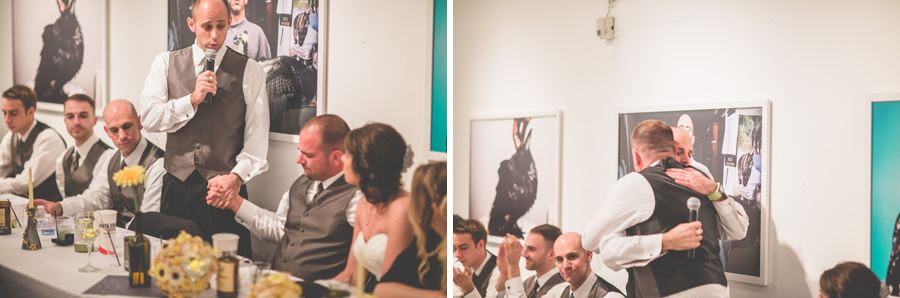 space gallery wedding toasts