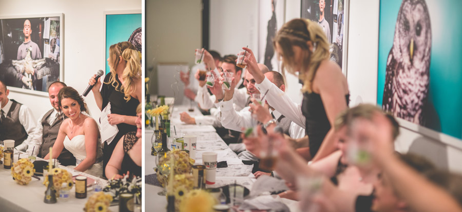 space gallery maid of honor toast