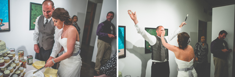 cake cutting ceremony space gallery wedding photographer