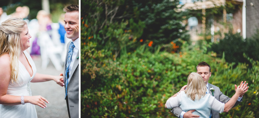 groom dances with mother colorado wedding photographer