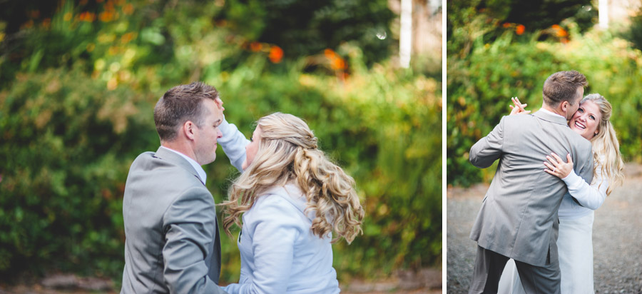 newlyweds dancing oregon destination wedding photography