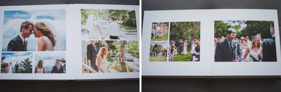 sample pictures of wedding albums from dan hand photography