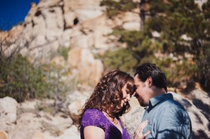 couple post for anniversary photos in Palmer Park, Colorado Springs by Denver Wedding Photographer Dan Hand