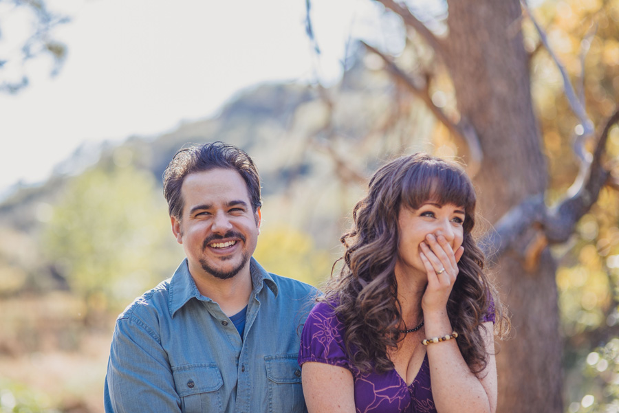 happy couple have anniversary portraits by Denver Wedding Photographer Dan Hand