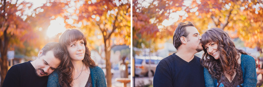 colorado fall color engagement photography