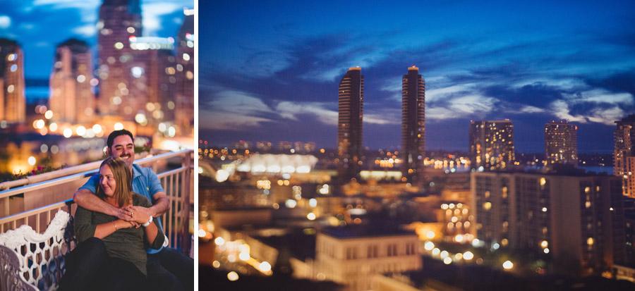 epic san diego sunset engagement photos