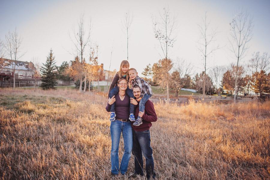 Denver Family Photos at Silo Park