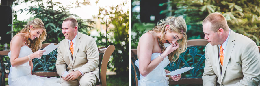 emotional private wedding vows