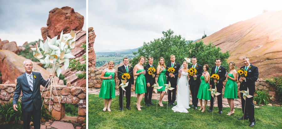 red rocks wedding photography