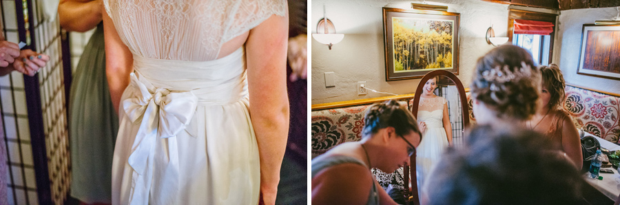 vintage bridal dress in boulder colorado