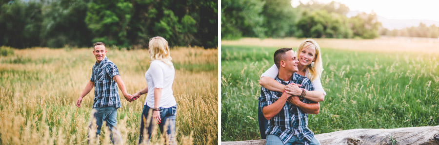 Bear Creek Greenbelt Engagement Photography