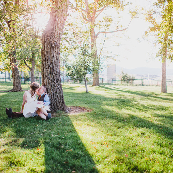 Heather and Noah - Longmont Wedding Photographer