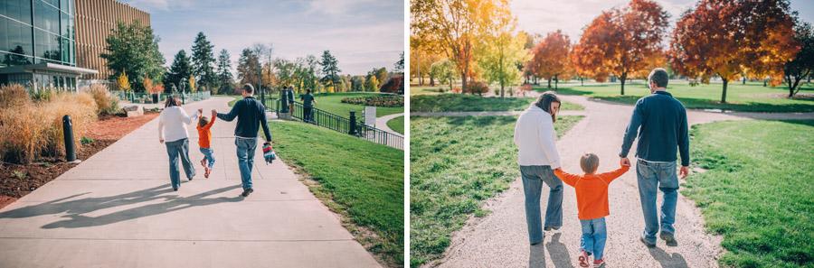 Denver City Park Family Photography