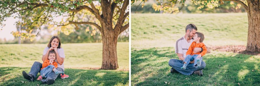 Fall Family Photos in Denver