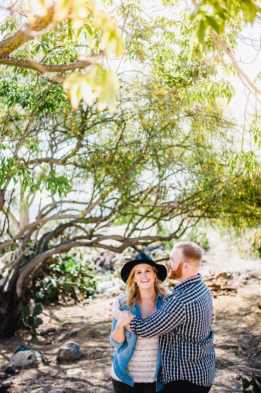 Balboa Park Engagement Photographer