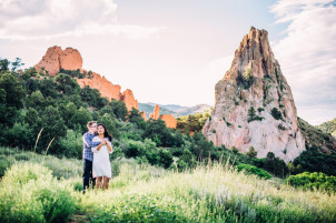 Garden of the Gods Engagement Photographer