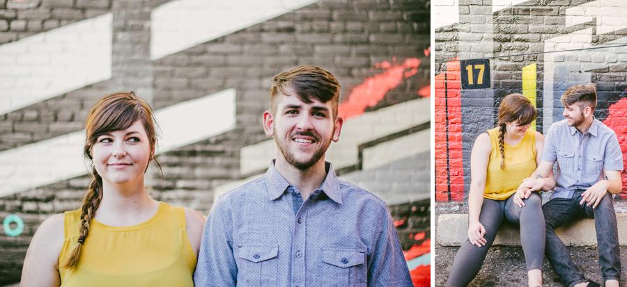 downtown denver engagement photographer