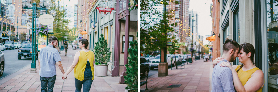 larimer square engagement photos
