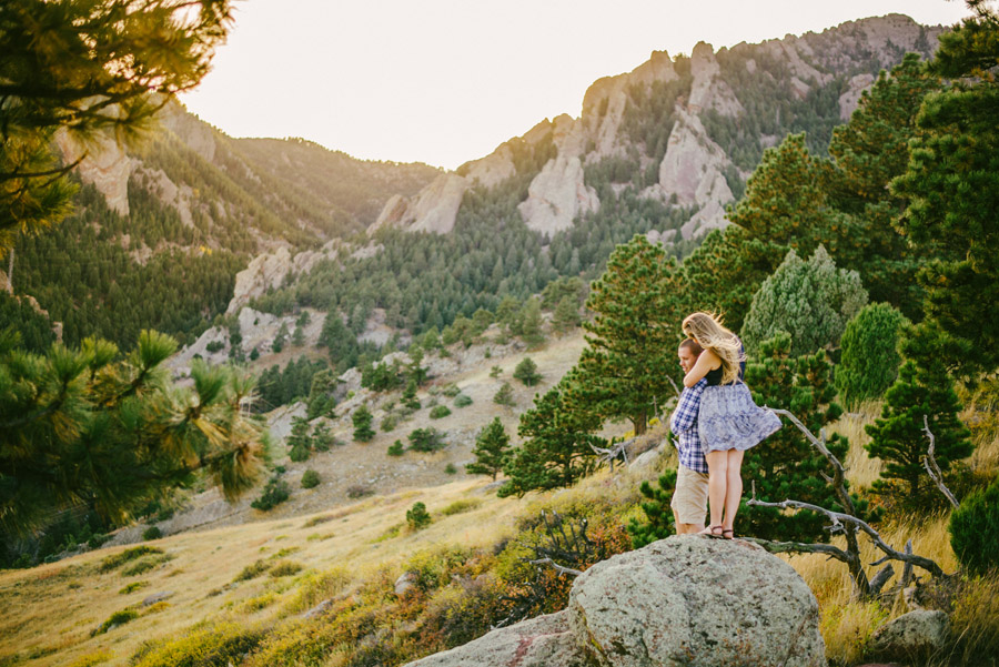 engagement photos at ncar in boulder