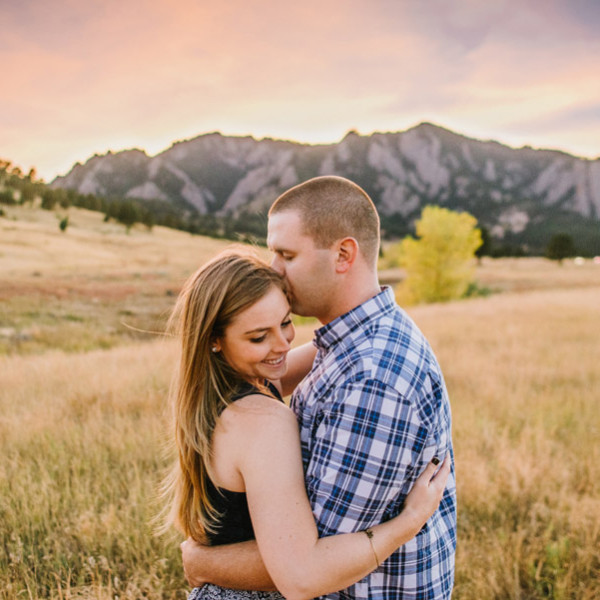 Katie and DJ - Boulder Engagement Photographer