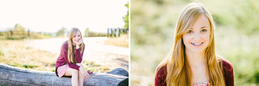 South Platte Park senior photo session