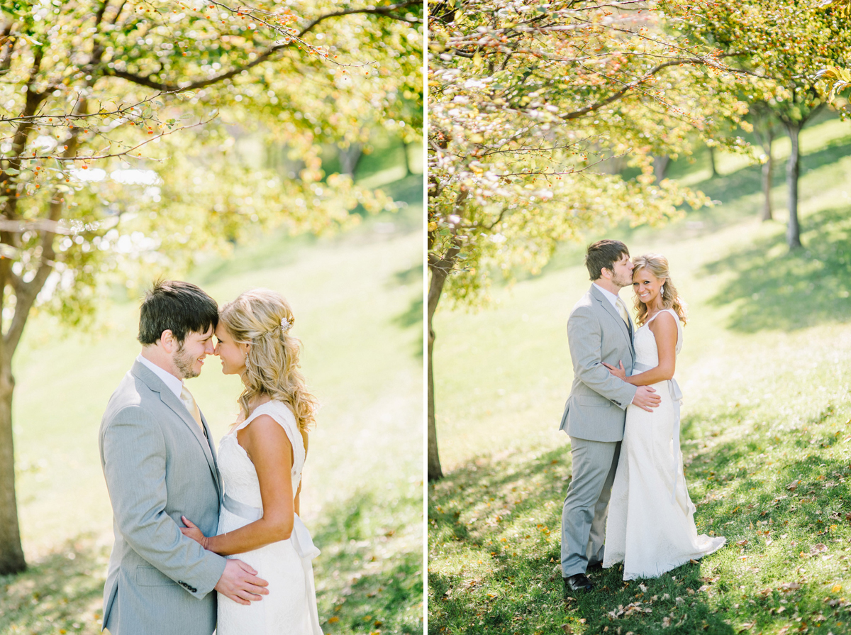 omaha bride and groom portraits