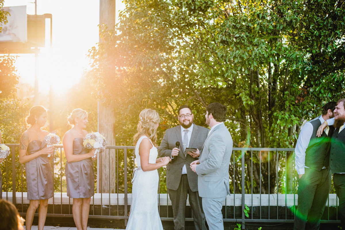 wedding at the old mattress factory in omaha