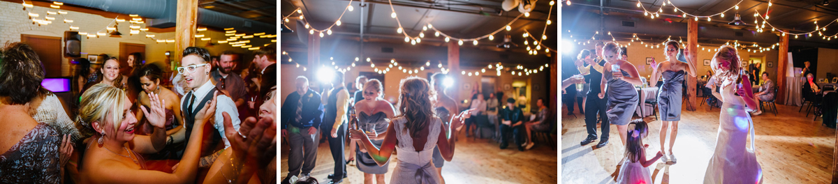 old mattress factory wedding reception