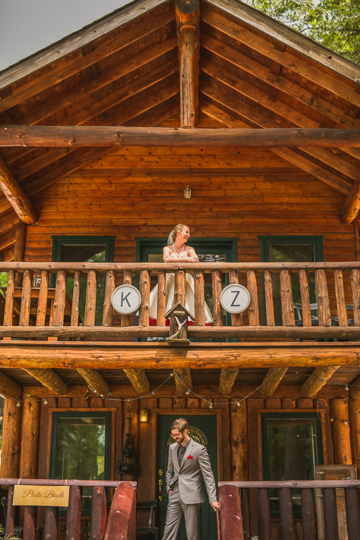 precious forest wedding cabin