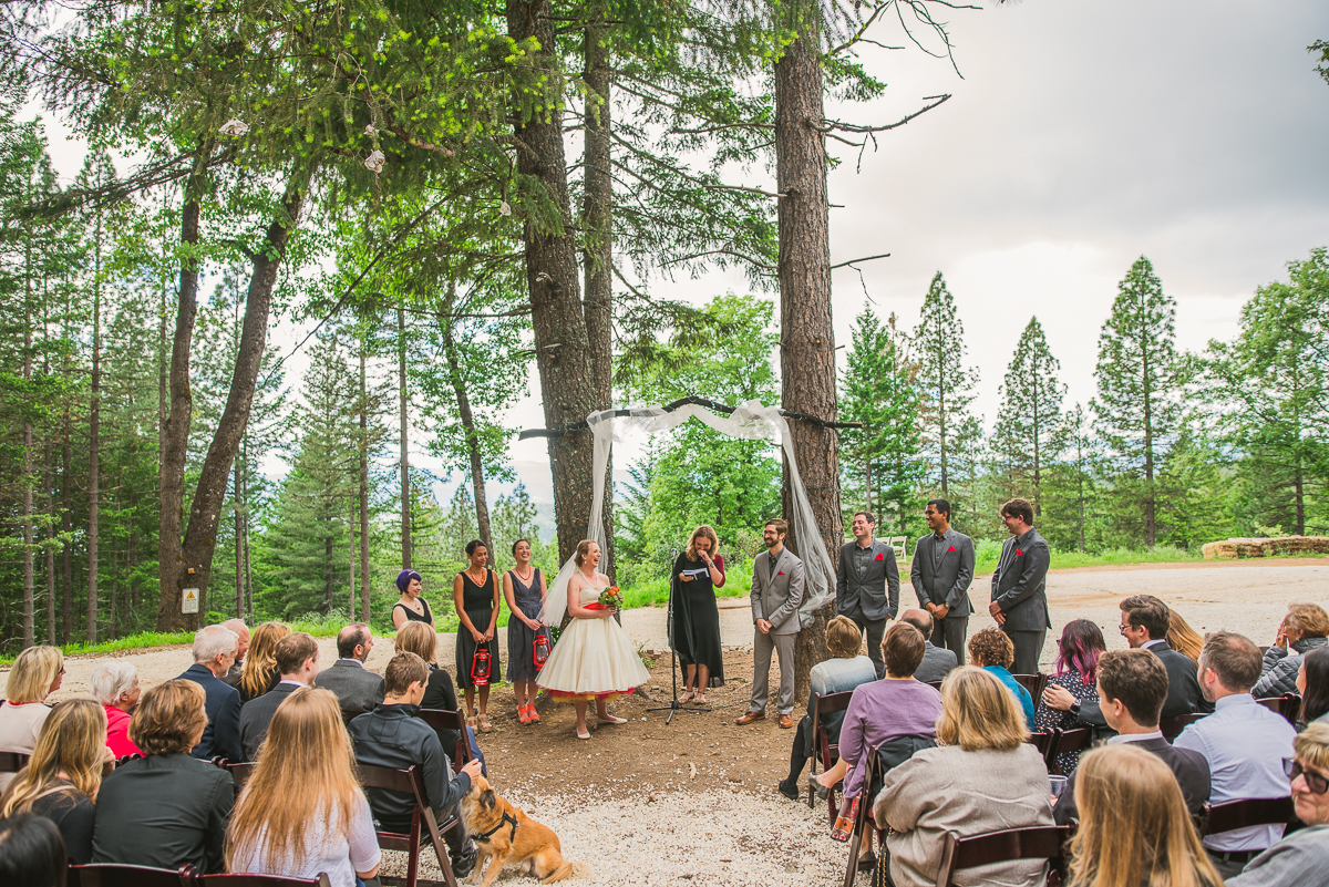 precious forest wedding location