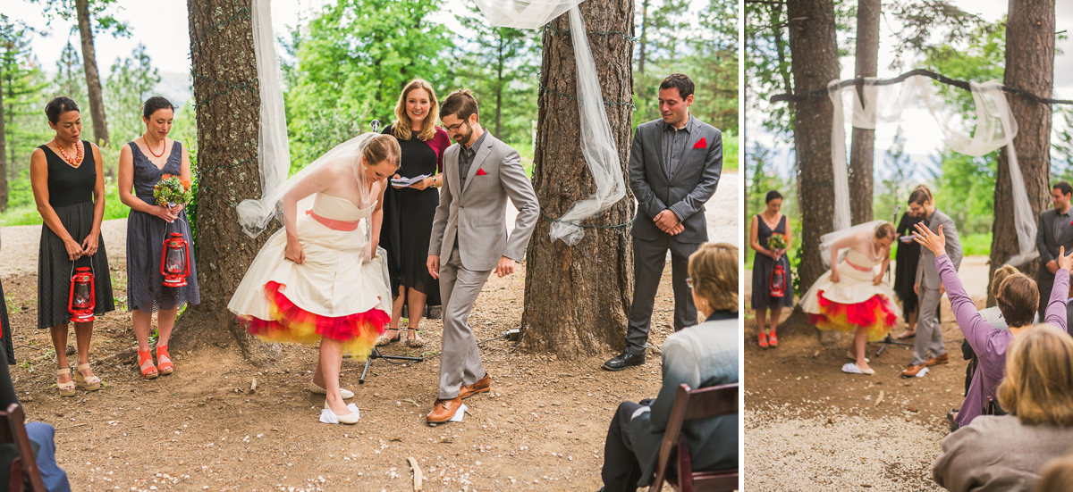 jewish wedding tradition at precious forest