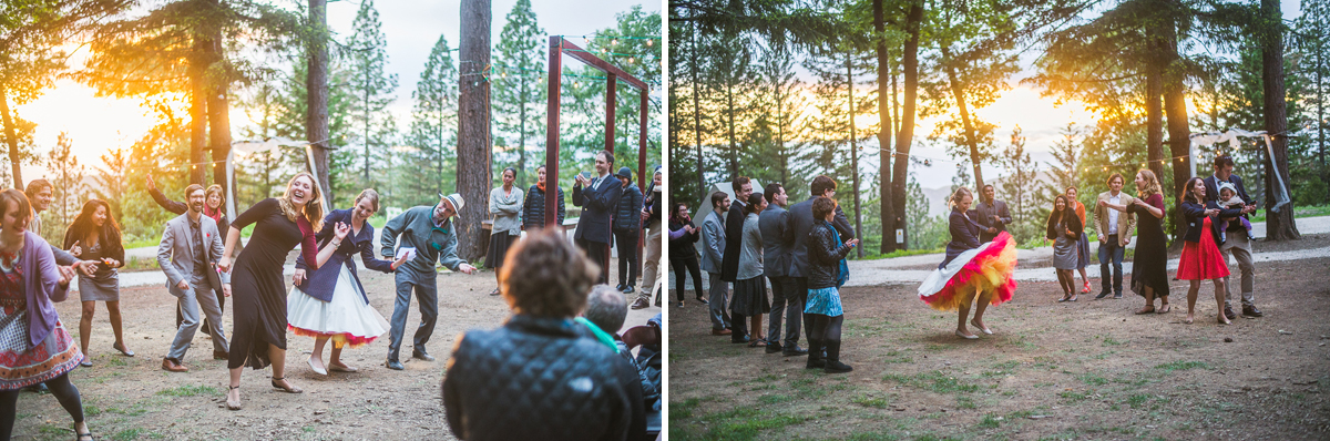wedding flash mob at precious forest