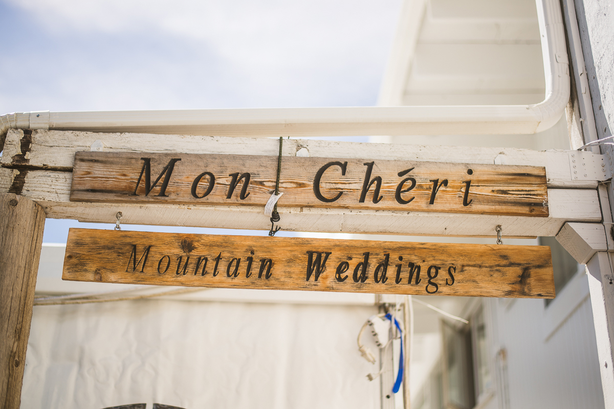 Mon Cheri Mountain Weddings