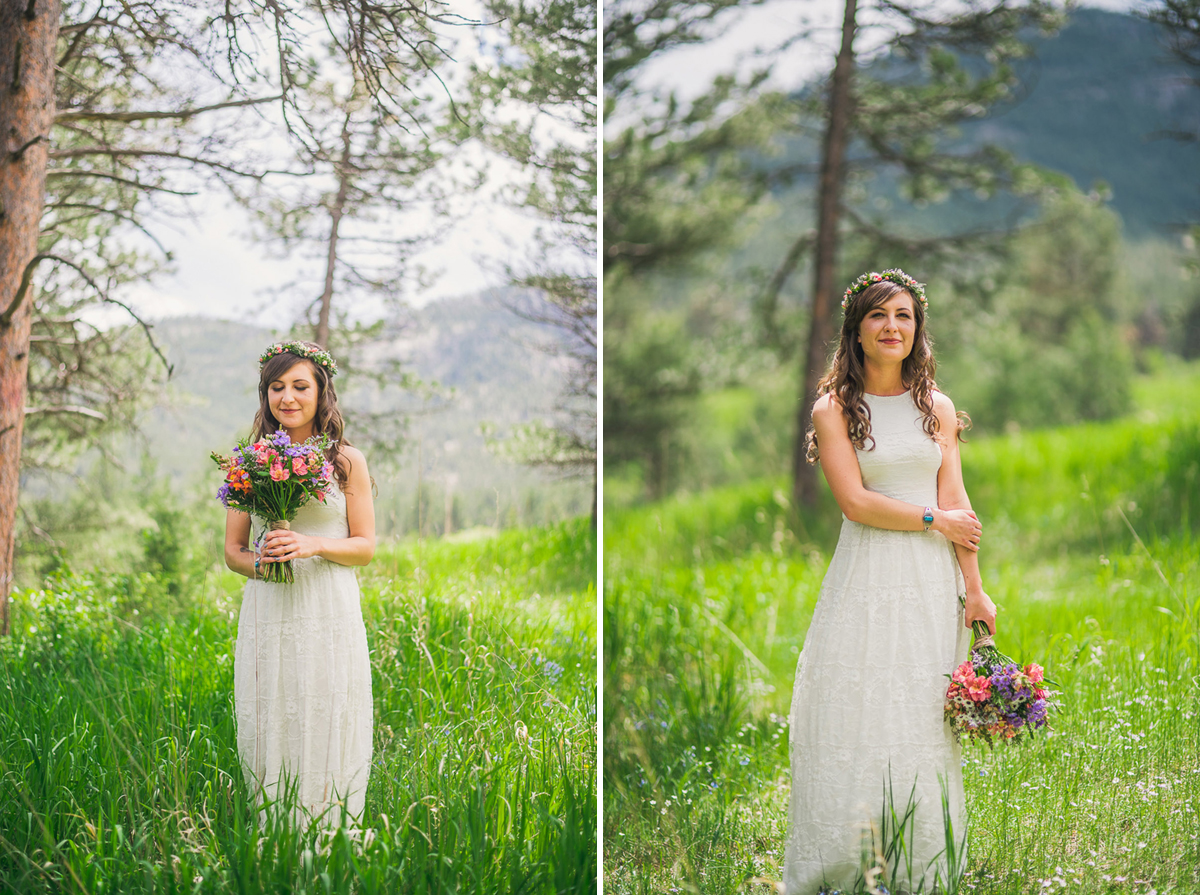 colorado boho bride