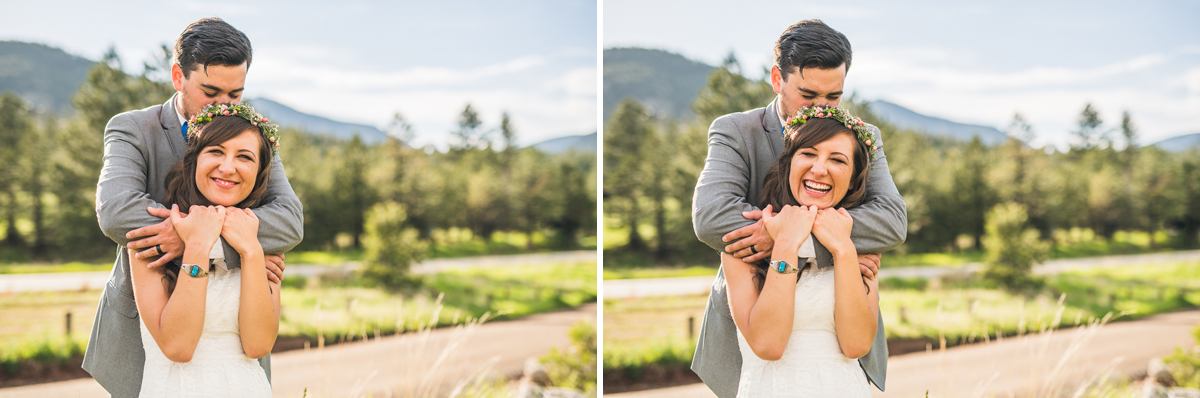 best wedding photographer in estes park colorado