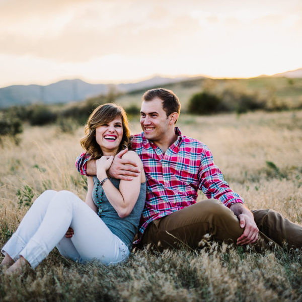 engagement photos in golden colorado