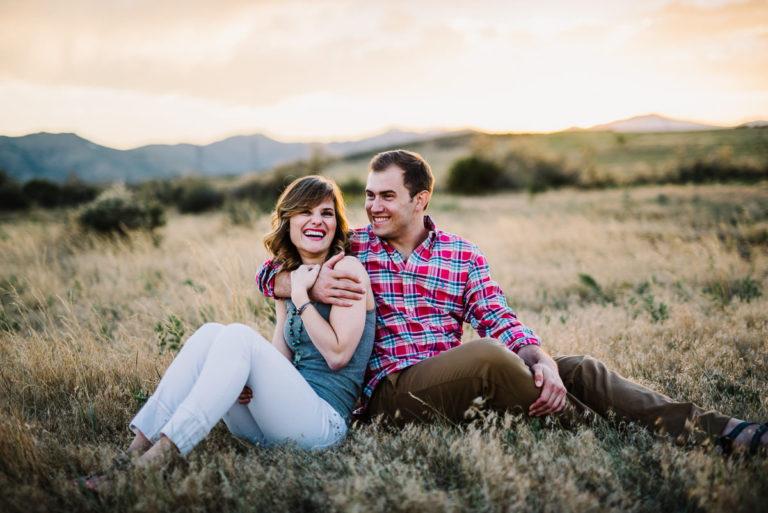 engagement photos in golden colorado