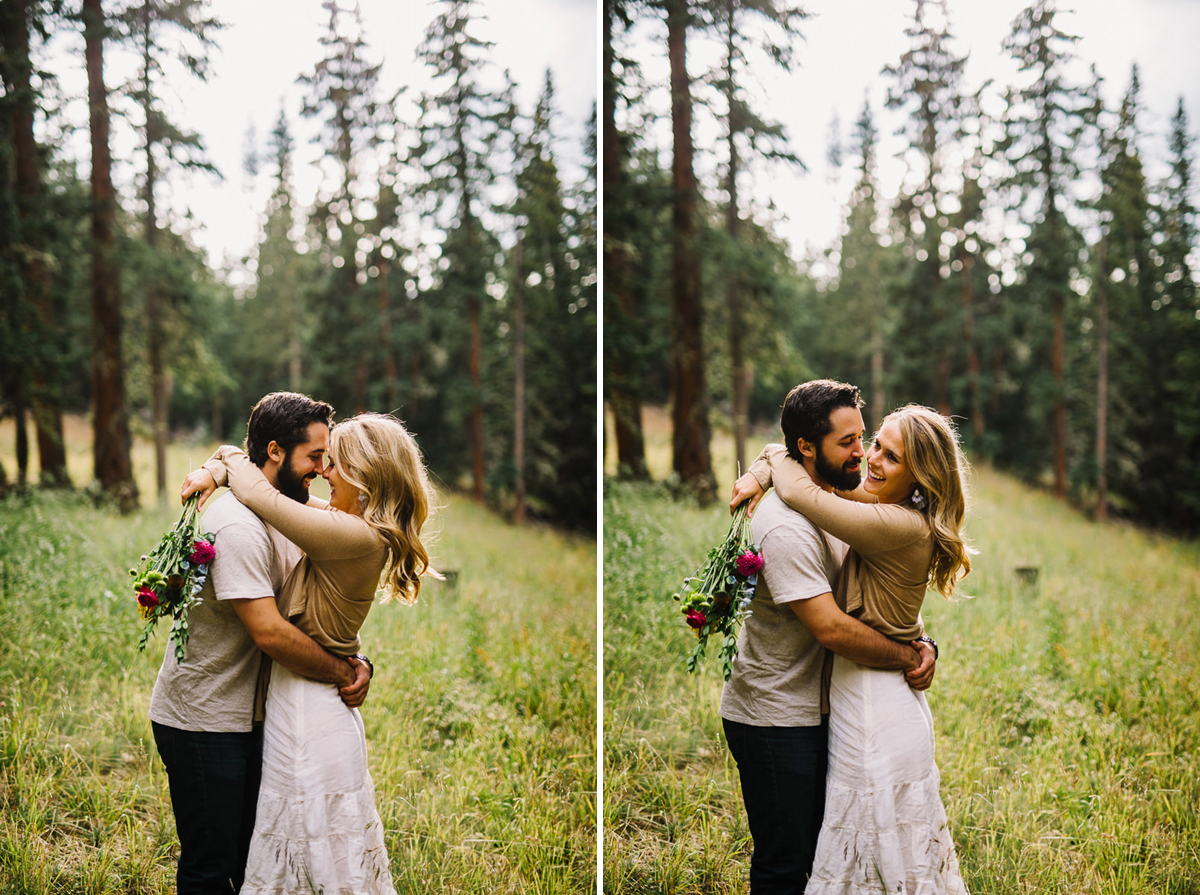 colorado forest engagement at echo lake