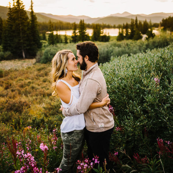 Echo Lake Engagement Photographer