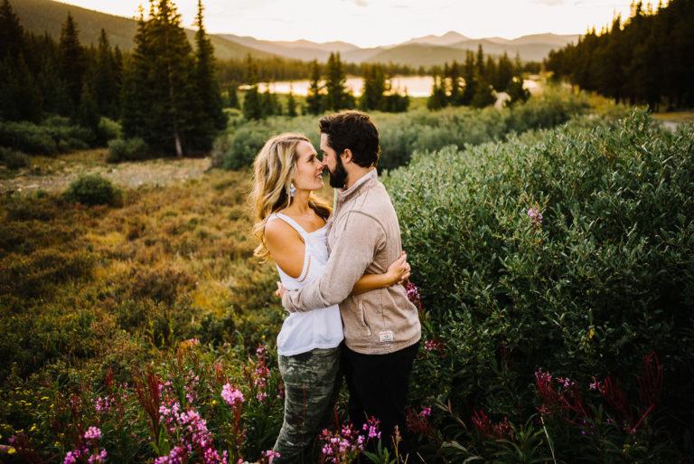 Echo Lake Engagement Photographer