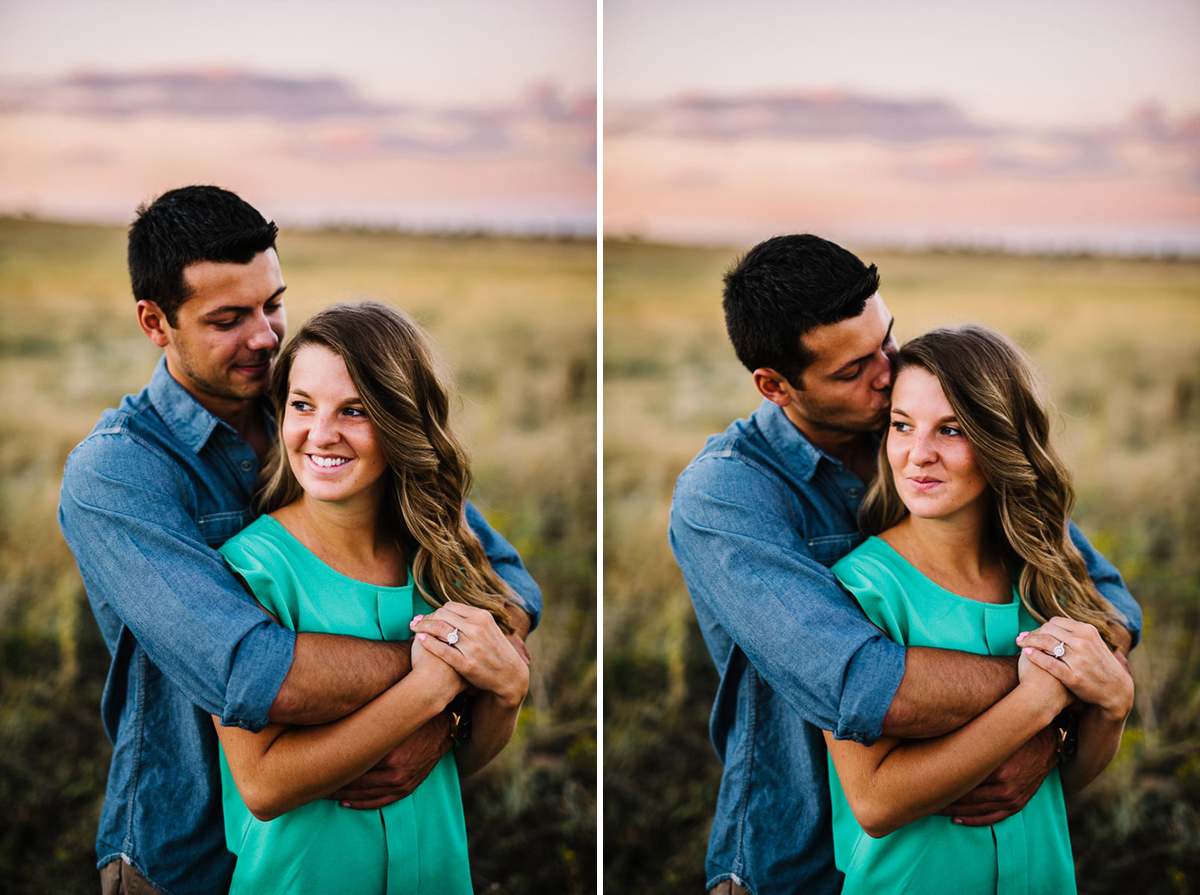 engagement photos in boulder