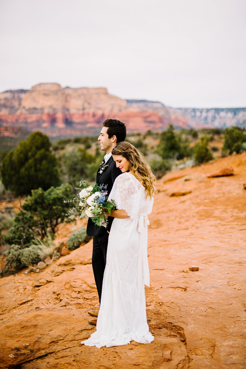 sedona boho wedding photography