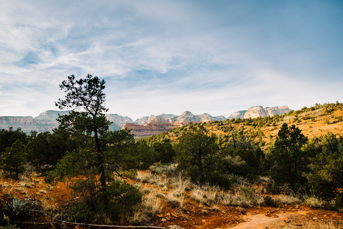 sedona valley landscape photo