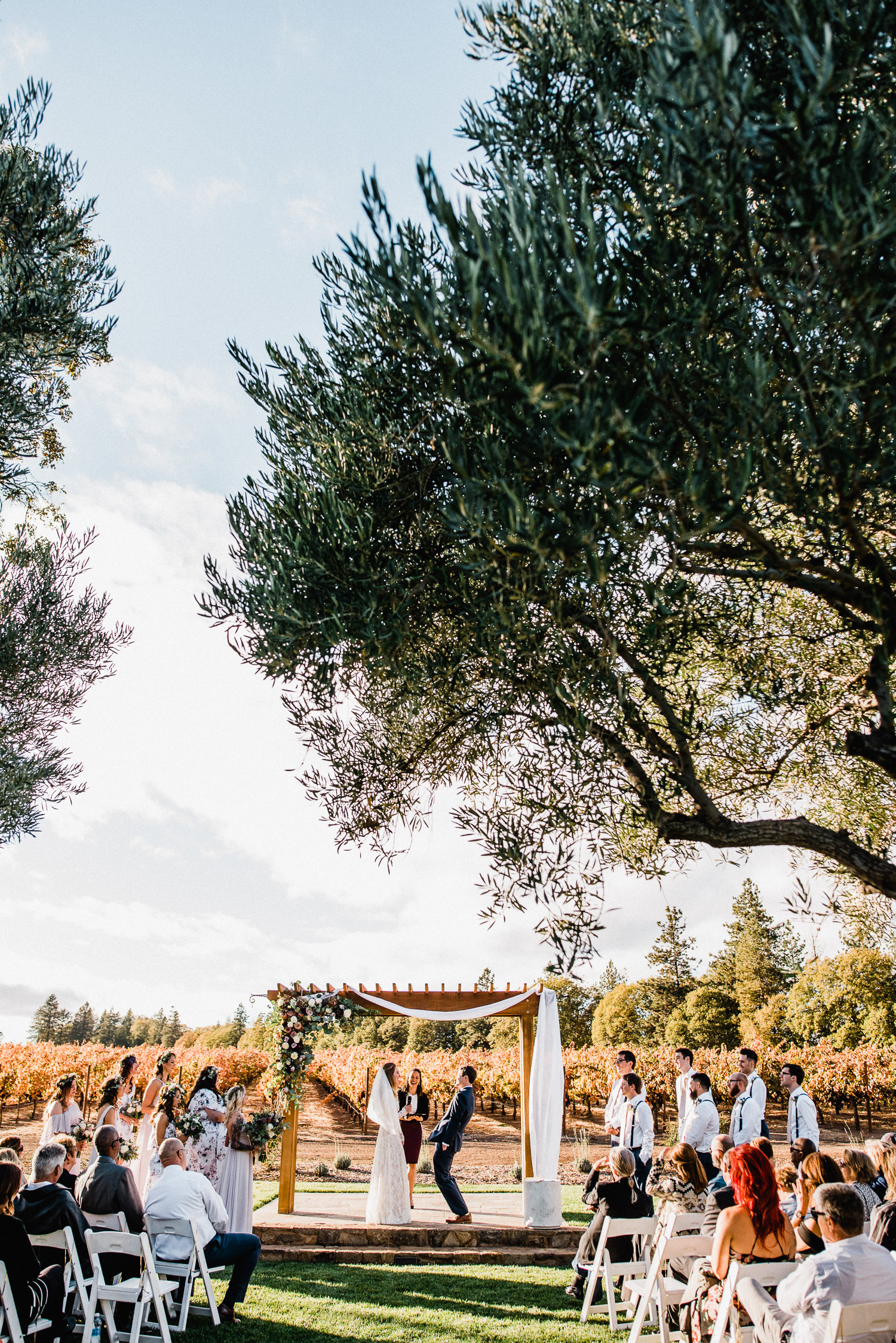 Wedding at Boatique Winery in Kelseyville, CA